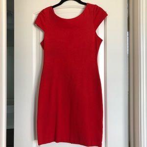 Alice & Olivia Red Bodycon Dress